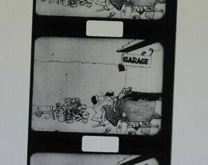 alter Pathe Film in Blechdose Stummfilm um 1920 Der Kater Felix die Schlaue  830
