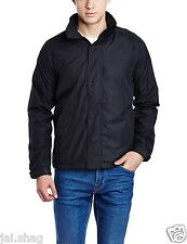WindCheater Black and Blue Nylon Jacket Size 40-42 for Winter and Rainy Season