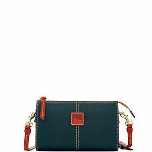 Dooney & Bourke Pebble Grain Small Janine Crossbody Shoulder Bag