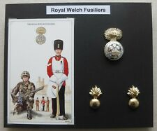 GENUINE British Army Royal Welsh Fusliers TRF patch velcro backed