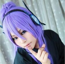 Vocaloid Miku Kamui Gakupo Purple Cosplay Wig + 1 Straight Ponytail