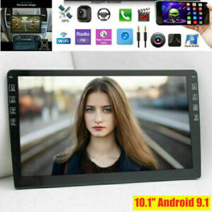 10.1'' Double 2 DIN Android 9.1 Bluetooth GPS Wifi Car Stereo Radio MP5 Player