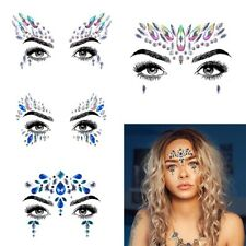 Body Adhesive Glitter Stickers Tattoo Face Gems Rhinestone Jewels Party  Festival f07cc7a87568