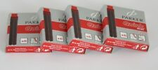 Parker Quink Mini Ink Cartridges RED x 24