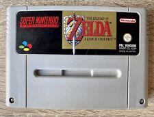 The Legend Of Zelda A Link To The Past Snes Súper Nintendo PAL España