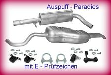 Abgasanlage Auspuff Schalldämpfer VW Golf IV 2.0 Variant / Kombi (Typ 1J5) + Kit
