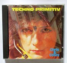 Chris & Cosey - Technø Primitiv - 1990 Belgium CD  - CTI CD 3 - PIAS RARE & MINT