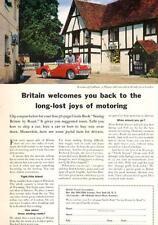 1962 British Travel Association PRINT AD Cookham a Thames-side town near London