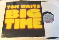 Big Time Tom Waits LP '88 island vinyl rare original scarce 209363 german import