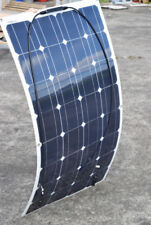 100W Flexible Solar Panel Mono Module RV Boat Roof Car 12V Battery Power Charger