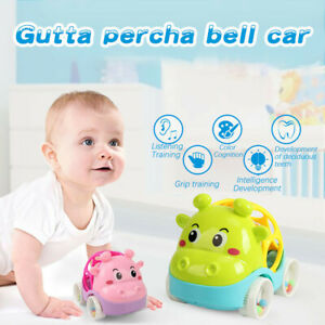 Funny Baby Toys for 3 to 24 Months Rattle and Roll Car Baby Hand Grab Toy Car