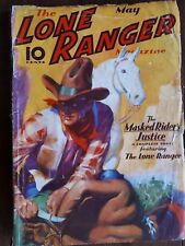 The Lone Ranger May 1937 Good