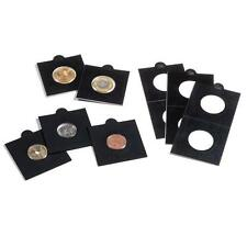 Self-adhesive Black Matrix 2x2 coin holders for coins up to 39.5 mm