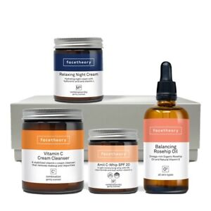 Brand New - FACETHEORY BRIGHTENING SKINCARE GIFT SET RRP £69