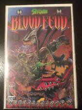 Spawn Blood Fued #1-4 Vf/Nm Alan Moore/Tony Daniel