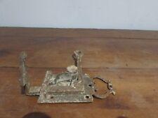 très ancien loquet serrure de porte