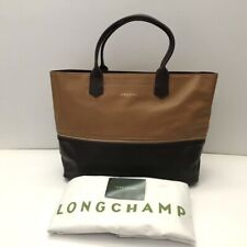 Longchamp * 2.0 Expandable Leather Bag in Chestnut & Brown Ivanandsophia