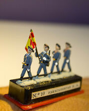 ALYMER Miniploms nº10. Soldados de plomo. 20mm (1:87). Paracaidistas E.A.