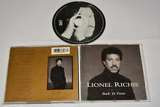 LIONEL RICHIE - BACK TO FRONT - MUSIC CD RELEASE YEAR: 1992
