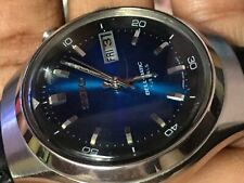Seiko bellmatic 4006-6060 Automatic vintage Mens watch Japan blue dial