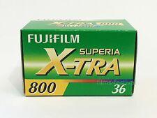 3 rolls Fuji Superia X-TRA 800 Color Film 35mm 36exp 135-36 Fujifilm