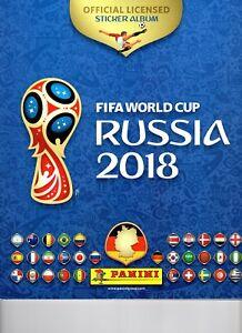 300 Panini Sticker Fifa World Cup Russia 2018 (keine doppelten)