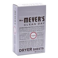 Mrs. Meyer's Clean Day Dryer Sheets Lavender 80 Count