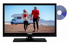 Telefunken XH20D101VD LED Fernseher mit DVD Player 20 Zoll HD TV Triple-Tuner