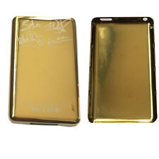 Thin Gold Metal Back Rear housing Case cover For ipod 7th classic 80GB U2