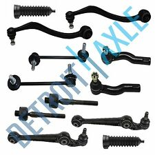 12pc Control Arm Ball Joint Tierod Sway Bar Kit for Fusion Lincoln MKZ Milan