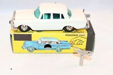 Schuco 1038 Mercedes 220 S Micro racer perfect mint in a super box and key