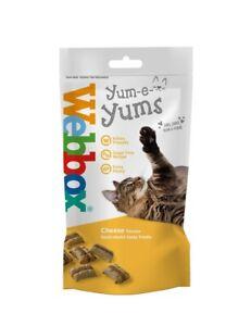 Webbox Cheese Yum E Yums Cat Treats 40g