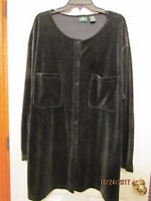 SIZE 24W ; WOMEN'S TOP ; FRONT BUTTON-UP  ; BRAND IS HUNT CLUB WOMAN  !!