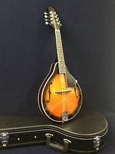Smoky Mountain A-style F-holes Mandolin Vintage Sunburst+Hard Case. SM64 VSB