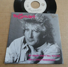 "DISQUE 45T DE ROD STEWART   "" MY HEART CAN'T TELL YOU NO "" PRESSAGE ALLEMAND"