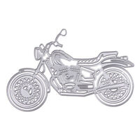 Motorcycle Metal Cutting Dies Stencils DIY Scrapbooking Album Decorative R1BO