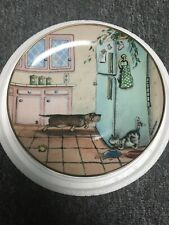 """Danbury Mint Collectors Plate """"Got Food� Dachshund by Gary Patterson"""