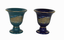 Pythagoras cup Parthenon petrol blue two quality cups