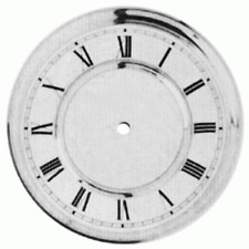Vienna Regulator Roman Numeral Clock Dial 150mm Replacement Repairs - CD24150