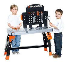 Black & Decker Jr. Ultimate Project Workbench Playset 72-Piece Kid's Tool Kit