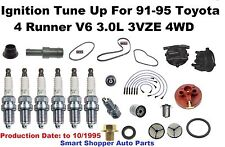 Ignition Tune Up For 1991-1995 Toyota 4 Runner 4WD V6 OES NGK Spark Plug, Belt