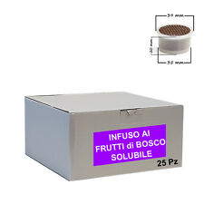 25 capsule Infuso FRUTTI di BOSCO Cialdeitalia - Comp. Lavazza Espresso Point