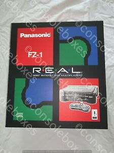 Empty Console Box for Panasonic 3DO FZ-1 with Flaps