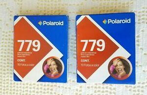 POLAROID 779 Instant Film 2 Pack 20 photos Expired 12/06 NIB