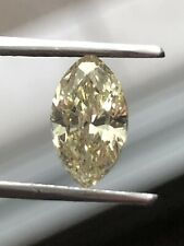 1.17 Ct. LIGHT YELLOW MARQUISE SHAPE DIAMOND, ONLY A NATURAL EARTH MINED DIAMOND