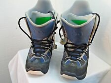 Womens Burton Brand Ski Boots Free Style Gray Size 7 Great Condition I5