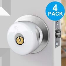 (4 Pack) KinderGard Baby Safety Door Knob Covers to Child Proof Doors