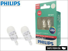 NEW PHILIPS ULTINON 194 RED LED 12 V BULBS 194RULRX2 Pack of 2