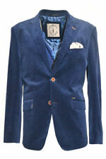 Corduroy Button Blazers for Men