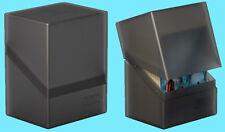 ULTIMATE GUARD BOULDER ONYX Standard Size DECK CASE 80+ NEW Card Storage Box MTG